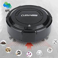 Розумний пилосос робот Clean Robot YSD з сенсорною кнопкою акумуляторний для Вашого будинку   Original, фото 2