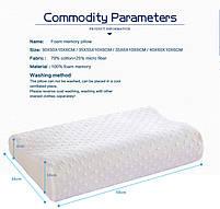 Ортопедическая подушка Comfort Memory Pillow с памятью для здорового и крепкого сна   Original, фото 7
