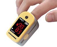 Бездротовий пульсоксиметр, пульсової оксиметром на палець JZK-230 + чохол, прилад для вимірювання пулься, фото 4