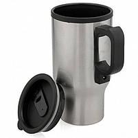 Кружка-термос автомобільна з підігрівом 12V CUP від прикурювача 450мл, термокружка, чашка термос, фото 4