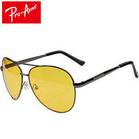 Очки антибликовые Pro Acme, автомобильные очки от бликов, очки авиаторы, фото 5