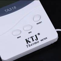 Гигрометр для измерения влажности помещения TA 318 с выносным датчиком, часы метиостанция с выносным датчиком, фото 8