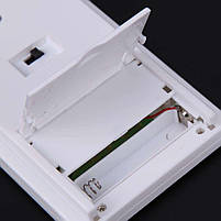 Гигрометр для измерения влажности помещения TA 318 с выносным датчиком, часы метиостанция с выносным датчиком, фото 9