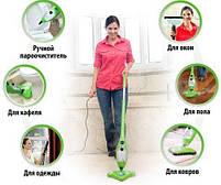 Парова Швабра універсальна H2O MOP X5, пароочисник для прибирання будинку, фото 5