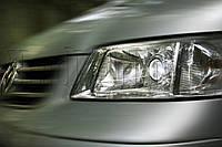 "Volkswagen Transporter T5 - установка биксеноновых линз Moonlight SUPER G5 2,5"" в фары"