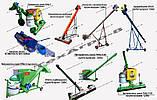 Приставка, приспособление, лифтера для уборки подсолнечника ПС-4, ПС-5, фото 6