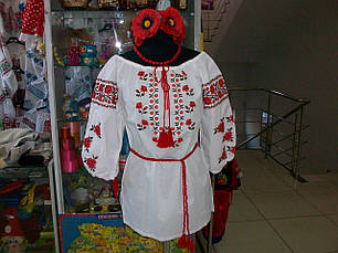 Нарядная женская вышиванка от производителя (хлопок), фото 3