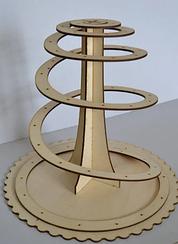 Підставка кругла з дерева