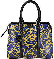 Женская сумка VF-69-107 синяя с желтым