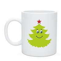 Чашка новогодняя с нанесением рисунок Good_Tree