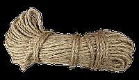Канат сизальовий Ø 8,0 мм * 50 м, фото 1