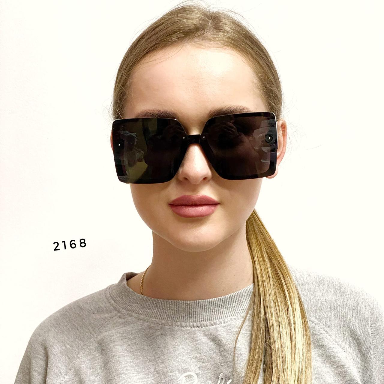 Сонцезахисні окуляри в стилі оверсайз