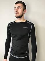Комплект костюм спортивный компрессионный мужской  Nike Найк  ( S последний размер), фото 2