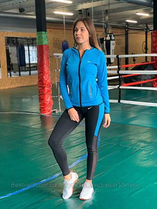 Комплект костюм спортивный компрессионный  женский  Nike Найк  (  L-XL ), фото 2