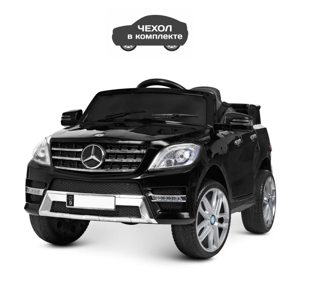 Детский электромобиль Джип Mercedes Benz M 3568EBLR-2 черный**