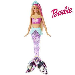 Лялька Барбі Мерехтлива русалонька Barbie Dreamtopia Sparkle Lights Mermaid Doll