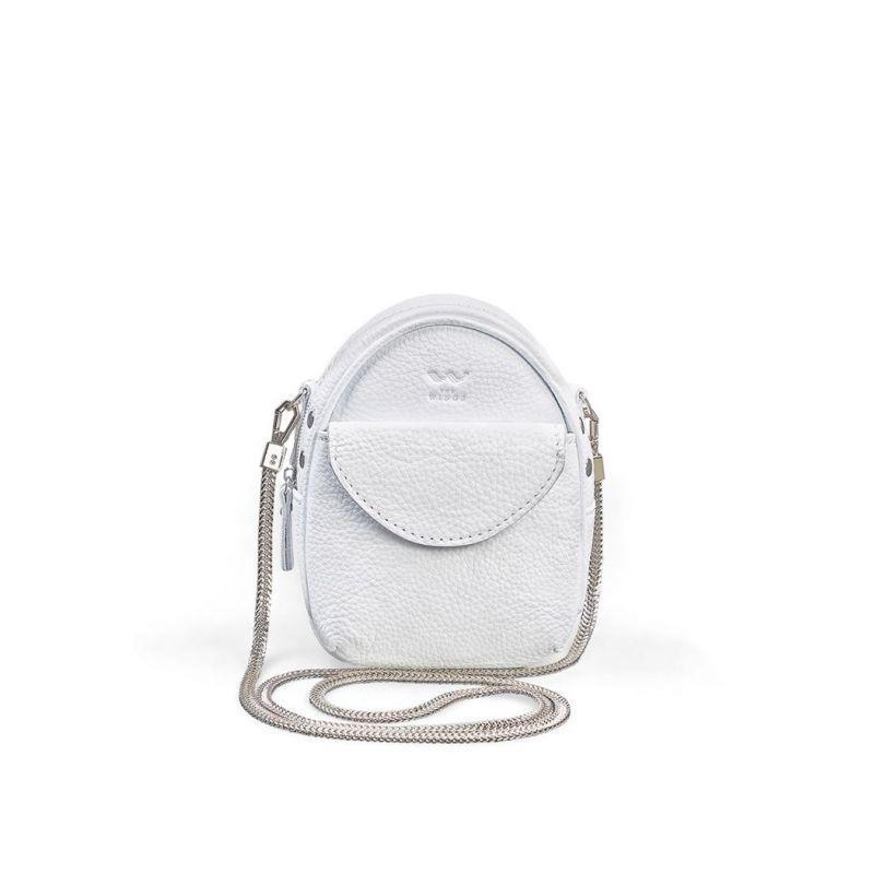 Міні-сумка Kroha біла флотар