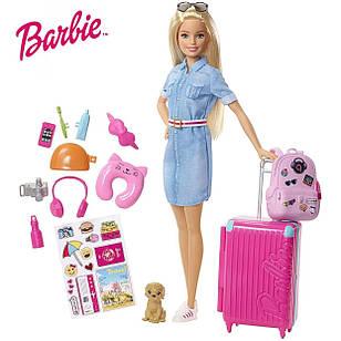 Ігровий набір лялька Барбі Подорож Barbie Travel Set