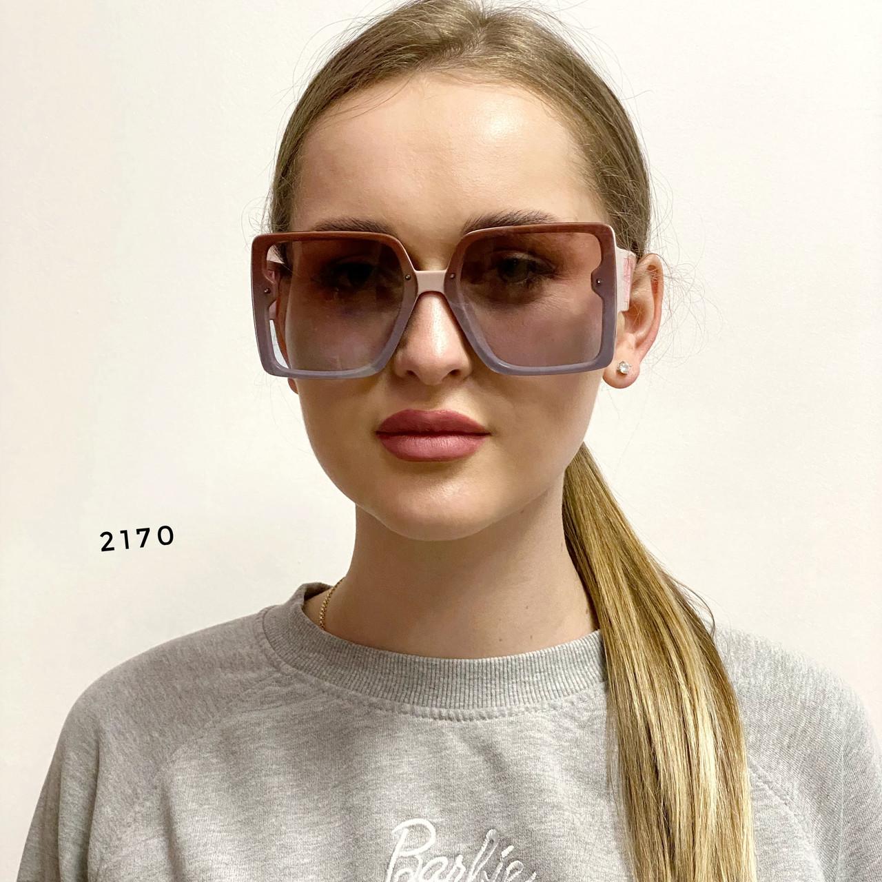 Солнцезащитные очки в стиле оверсайз