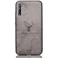 Чехол Deer Case для Huawei P Smart S Grey