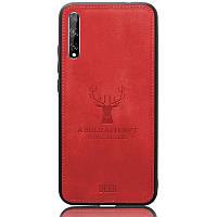 Чехол Deer Case для Huawei P Smart S Red