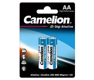 Батарейка Camelion Digi Alkaline АА 1*2шт.