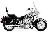 Модель мотоцикла (1:18) 2002 Harley-Davidson FLSTC Heritage Softail Classic