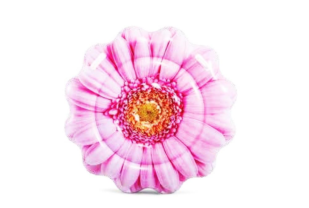 Intex Матрац Рожева квітка 142см