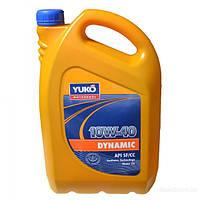 Масло моторное Yuko Dynamic 10W40 полусинтетика 5л
