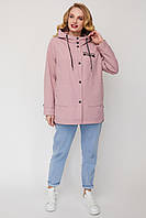 Легкая женская куртка-ветровка Большие размеры 52-62