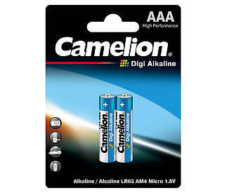 Батарейка Camelion Digi Alkaline ААА 1*2шт.