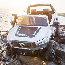 Детский электромобиль, двухместный  M 4552 EBLR-1, Toyota Hilux