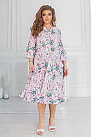 Женское платье большого размера.Размеры:50/52,54/56,58/60+Цвета