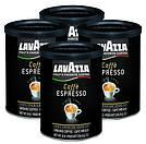 Итальянский молотый кофе арабика Lavazza Espresso ж/б 250г, фото 2