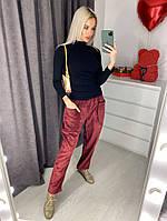 Жіночі стильні вельветові штани з кишенями Норма