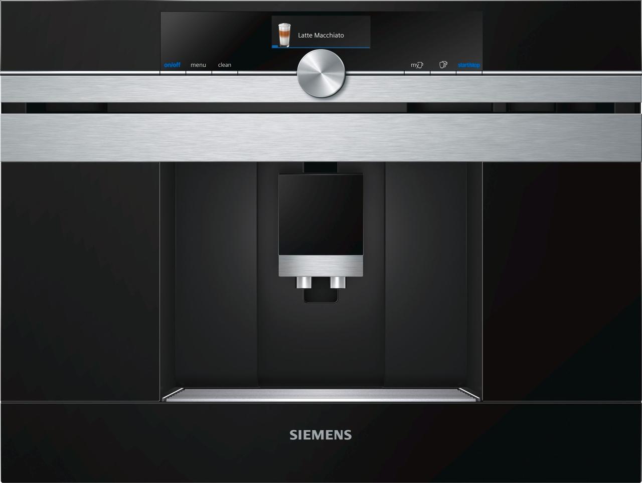 Встраиваемая кофемашина Siemens CT636LES6