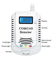 Індикатор газів 2 в 1 Метан CH4 Чадний CO