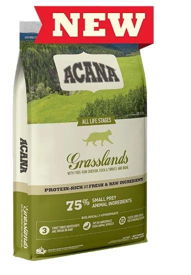 Сухий корм Acana GRASSLANDS CAT 4.5 кг для кошенят і котів всіх порід