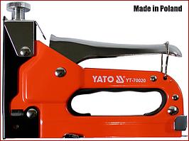 Степлер мебельный универсальный Yato YT-70020