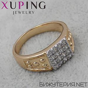 Перстень Xuping медичне золото 18K Gold - 1025746989
