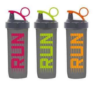 Бутылка для спорта Herevin Shaker Run Mix 0.75 л для воды