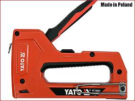 Степлер мебельный универсальный Yato YT-70021