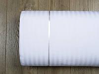 Ткань Турция сатин страйп 1*1 белый 280 ширина