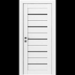 Міжкімнатні двері Rodos Модерн Lazio Білі матові (полотно)