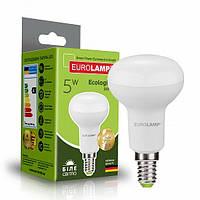 Світлодіодна рефлекторна EUROLAMP LED Лампа ЕКО R39 5W E14 4000K