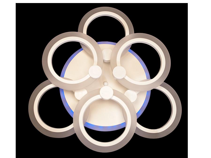 Люстра  A3003/3+3CF LED 3color dimmer (Коричневый) 65W