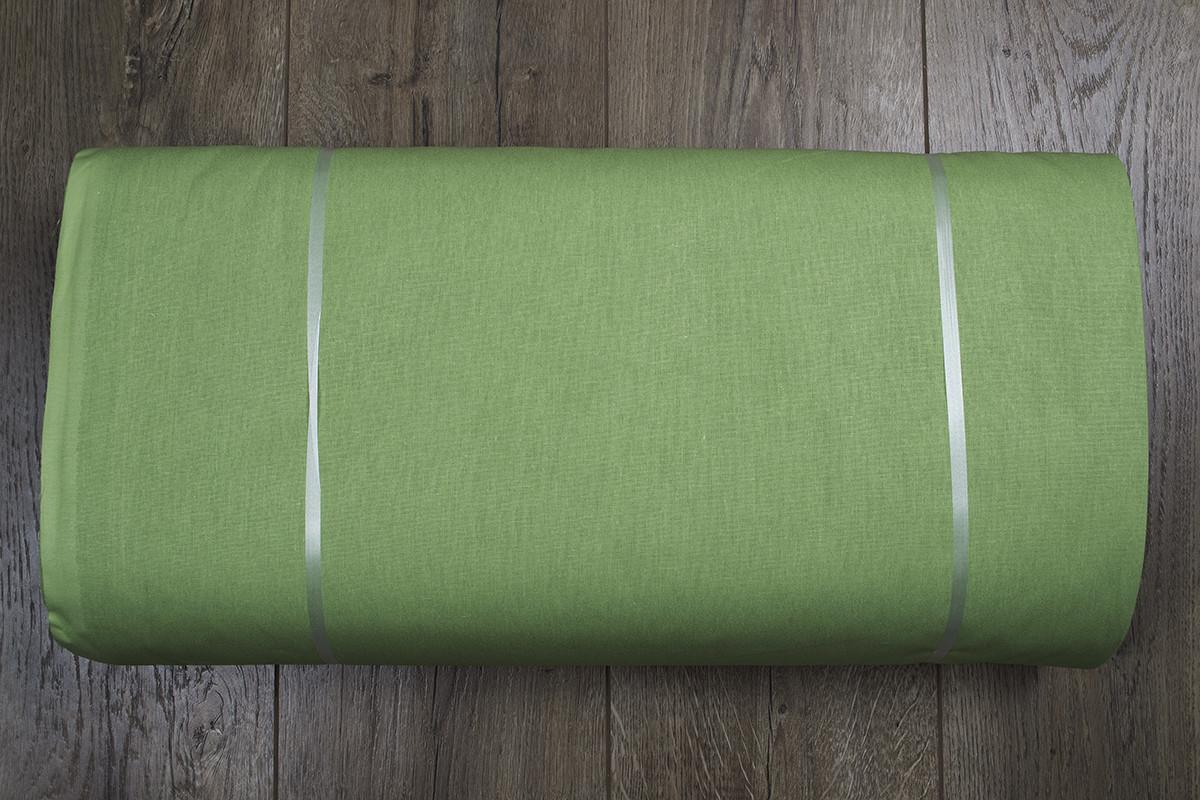 Ткань ранфорс premium Турция - оливковый k35 (220 ширина)