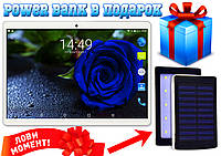 12 ЯДЕР планшет телефон Samsung Galaxy TAB 10'' 2Sim, GPS,3G, 2/32GB Power Bank в ПОДАРОК!
