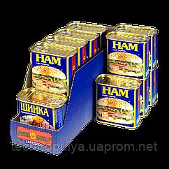 Упаковка шинки PowerBANKa Свинина рубана 340 м х 14 шт (38506826)