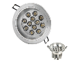 LED Светильник потол. 7W хол. (R999/7W WH) (TL30052)